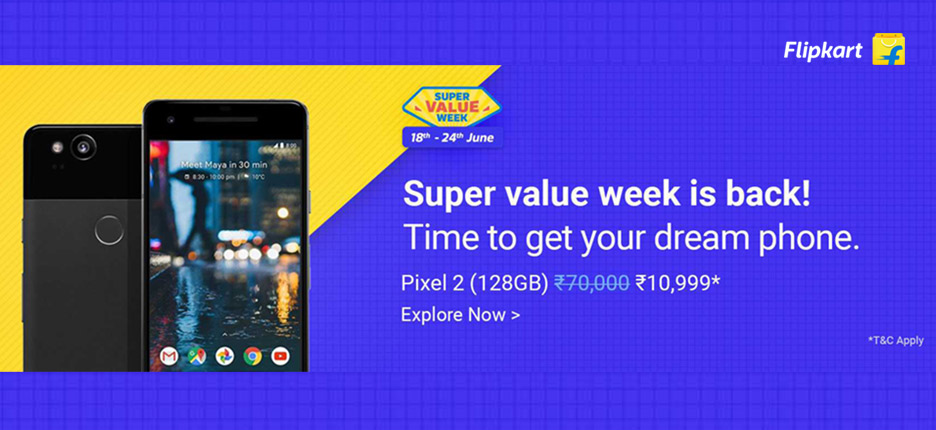 Super Value Week @Flipkart