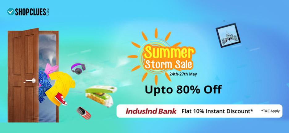 Shopclues Summer Storm Sale